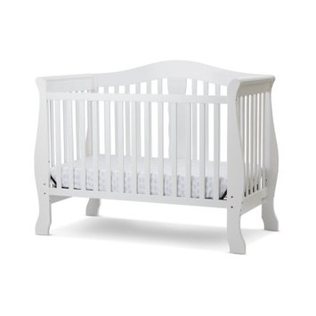 Amwan Avalon 4 in I Convertible Crib in White