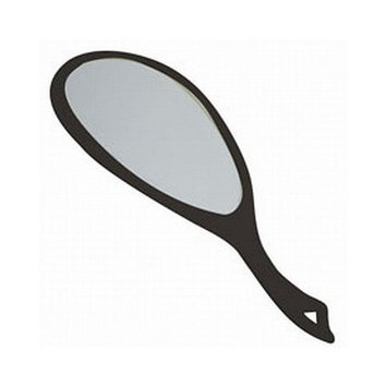 Soft 'N Style Professional Hand Mirror Black (Pack of 12)