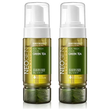 NEOGEN Real Fresh Foam Green Tea 160g (5.6oz) 2pcs Set Made in Korea