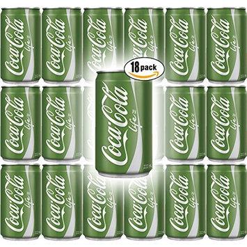 Coke Life, 7.5 Fl Oz Mini Can (Pack of 18, Total of 135 Fl Oz)