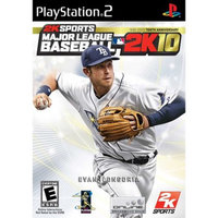 Take-two Major League Baseball 2K10 Playstation2 New