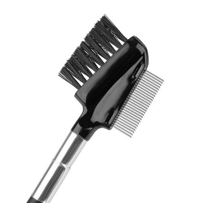 Beauty7 Professionl Dual Comb Brow Brush and Eyelash Comb Groomer