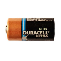 Duracell Ultra DL123 3.0V Photo Lithium Battery CR123 - 4 Pack + FREE SHIPPING