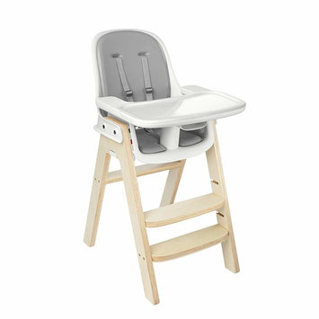 OXO Tot Sprout Chair with Tray Cover, Gray and Birch