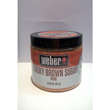 Weber's Smoky Brown Sugar Rub 12 Ounces