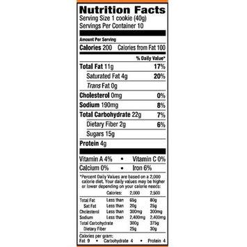 Freshness Guaranteed Peanut Butter Chocolate Chunk Cookies, 14 oz