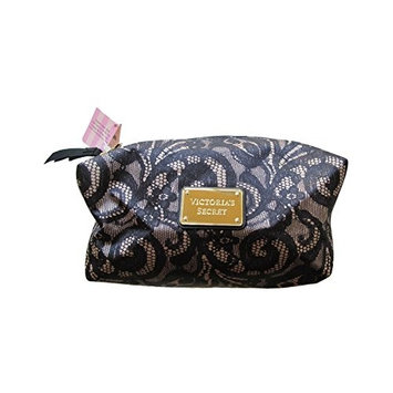 Victoria's Secret Lace Print Make up Cosmetic Bag Case