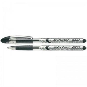Stride STW151201BN Schneider Black Slider XB Ballpoint Pen - 10 Each