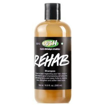 Lush Cosmetics Rehab Shampoo, 16.9 Ounces