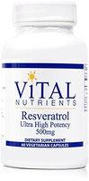 Vital Nutrient's Vital Nutrients Resveratrol Ultra High Potency 60 vcaps
