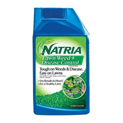 Natria 706450B Lawn Weed + Disease Control Liquid Concentrate, 24 Oz
