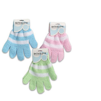 Atb 4 Pairs Exfoliating Spa Bath Gloves Shower Soap Body Wash Spa Replace Loofah Lot