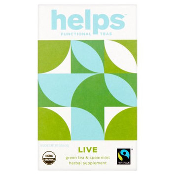 Helps Tea Organic Green Tea Leaves - 20 Tea Bags