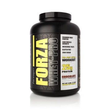 Forzagen Forza Whey-Pro 100% Premium Whey Protein, 25g Protein, 63 Servings - Chocolate