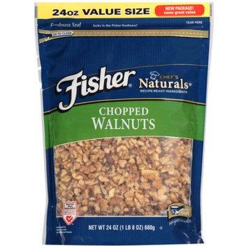 John B Sanfilippo Fisher Chef's Naturals Chopped Walnuts, 24 oz