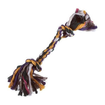 Boss Pet Products 03871 Med Multicolor Rope Bone