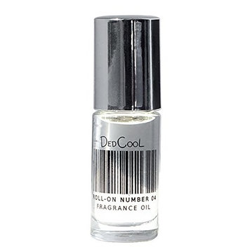 DedCool - Roll-On 04 Perfume Oil | Unisex, Vegan, Cruelty-Free (.15 fl oz/4 ml)