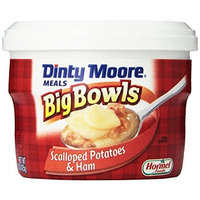 Dinty Moore Big Bowls Scalloped Potatoes and Ham, 15-Ounce Microwavable Bowls (Pack of 8)
