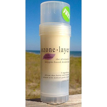 Ozone Layer Deodorant - The All Natural Oxygen Based Deodorant (Lemongrass Essential Oil)
