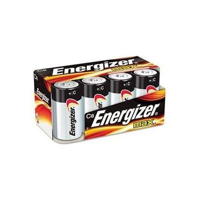Energizer MAX Alkaline Batteries, C - eight batteries.
