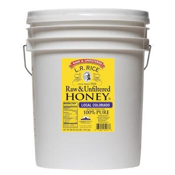 Rice's Lucky Clover Honey L.R. RICE Local Colorado Honey 60lb