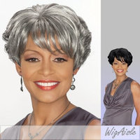 Foxy Silver (Charlotte) - Synthetic Full Wig in 1B