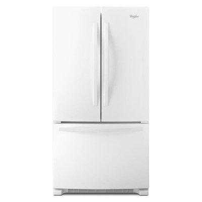 Whirlpool White French Door Refrigerator
