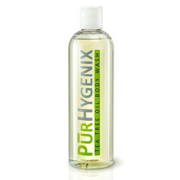 PurHygenix Tea Tree Oil Body Wash - Gym Soap Natural Antibacterial and Antifungal Tea Tree Oil Body Wash for Gym Germs and Skin Protection for Daily Use