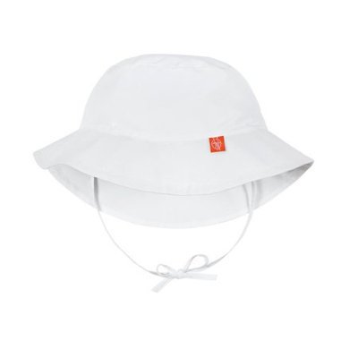 Lassig™ Size 18-36M Reversible Sun Protection Bucket Hat in White/White