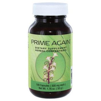 Prime Again®, 100 Capsules/Bottle