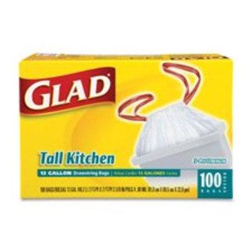 Glad Tall Kitchen Drawstring Trash Bag 100 Ct