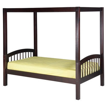 Camaflexi Arch Spindle Headboard Canopy Bed