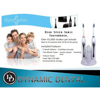 dynaSonic Duo Sonic Toothbrush with UV Sanitizer