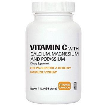 Bronson Vitamins Vitamin C Powder Buffered with Calcium, Magnesium and Potassium