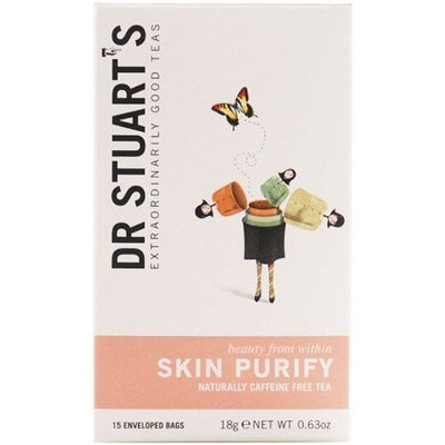 Dr Stuarts - Skin Purify Herbal Tea 15 Bag 3 PACK BUNDLE (Pack of 3)