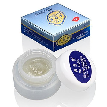 Baisidai Professional Grape Seed Oil Glue Remover Lashes Eyelash Extension Cleaner 5g