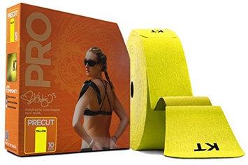 KT Tape 10 in. Pro Precut English Sports Jumbo Tape Roll Yellow