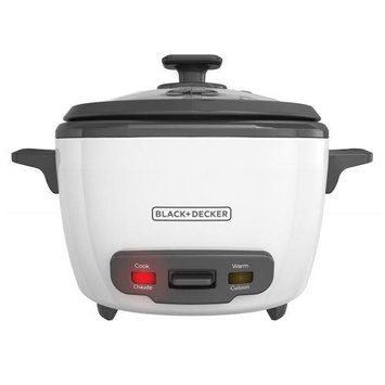 Black & Decker RC516 16-Cup Rice Cooker One Size White