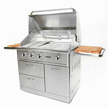 Capital Grills Precision 4-Burner 40 in. Stainless Steel Propane Gas Grill HCG40RFSL