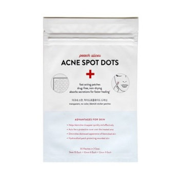 peach slices Acne Spot Dots Facial Treatment - 30 Patches