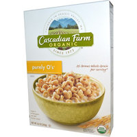 Cascadian Farm, Organic, Purely O's, Organic Whole Grain Oat and Barley Cereal, 8.6 oz (pack of 6)