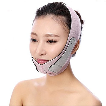 InnoLife Facial Slimming Chin Cheek Band Strap 3D Mask, Double Chin Reducer V Shape Face Line Chin Lift Up