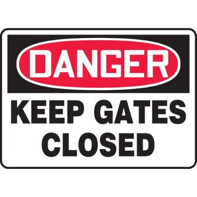 Accu Form KEEP GATES CLOSED