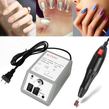 Professional Home Nail Acrylic Manicure Pedicure Drill Electric Machine Sets Kits EU US plug