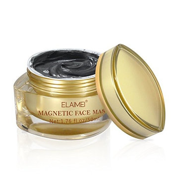 Magnetic Mask Mineral-Rich Magnetic Face Mask with Iron Pore Cleansing Removes Skin Impurities Black Luster Mask for men and women (1.76 fl. oz/ 50 ML)