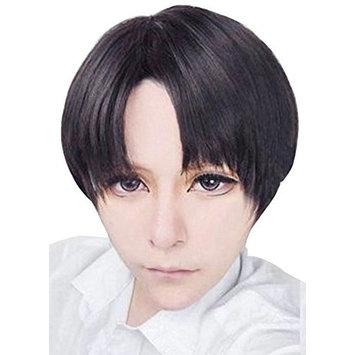 Kadiya Heat Resistant Short Brown Cosplay Wig Synthetic Hair