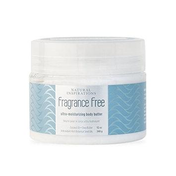 Natural Inspirations Fragrance Free Ultra-Moisturizing Body Butter (12 oz)