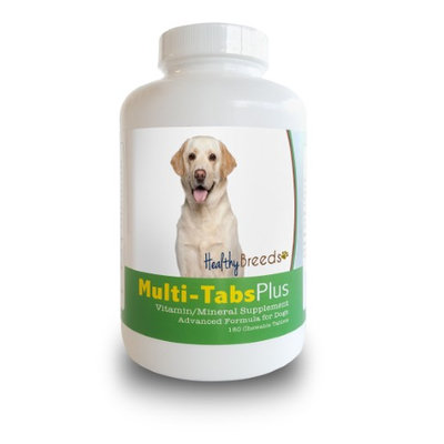 Healthy Breeds 840235140382 Labrador Retriever Multi-Tabs Plus Chewable Tablets - 180 Count
