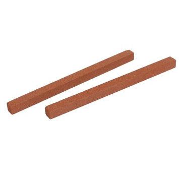 Engineered Abrasives Grinding Square Polishing Oil Stone Stick Sharpener 2 Pcs