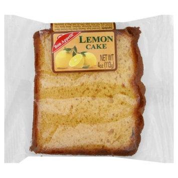 Bon Appetit Bakery Bon Appetit Bon Ap Sliced Lemon Cake